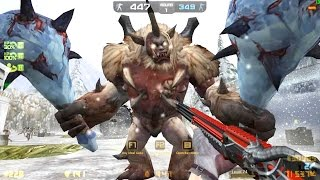 Counter-Strike Nexon: Zombies - Frozen Terror Zombie boss Fight online gameplay on Encounter map