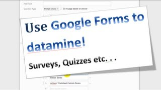 Excel VBA Tips n Tricks 31 Google Drive - Making a Form and Collecting Data Online
