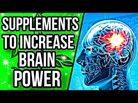 Top 5 Supplements For Increasing Brain Power