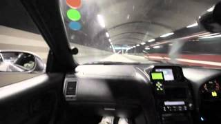 Skyline R34 GT-R V-Spec 610HP in Stockholm Tunnels HD thumbnail