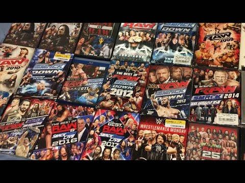 DVD & Blu-Ray Collection - WWE Raw & SmackDown (2018) & Unboxing