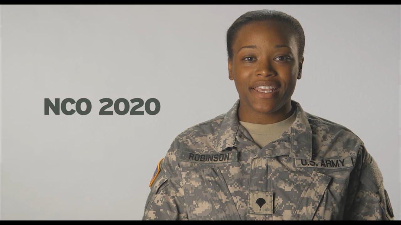 NCO 2020:  Designed for tomorrow's NCO