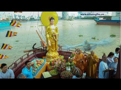 Lễ Phóng Sanh, Quy Y, Cúng Thí Thực Các Vị Hương Linh, Bạch Đằng, 07/2014 - ĐĐ Thích Giác Nhàn