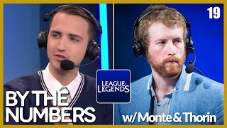 [E19] By The Numbers: LoL with MonteCristo and Thorin | Alphadraft Podcast Episode 19