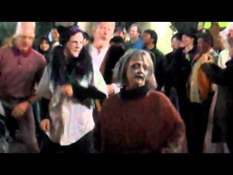 Thriller flash mob dance Boulder, Colo. 10/30/10