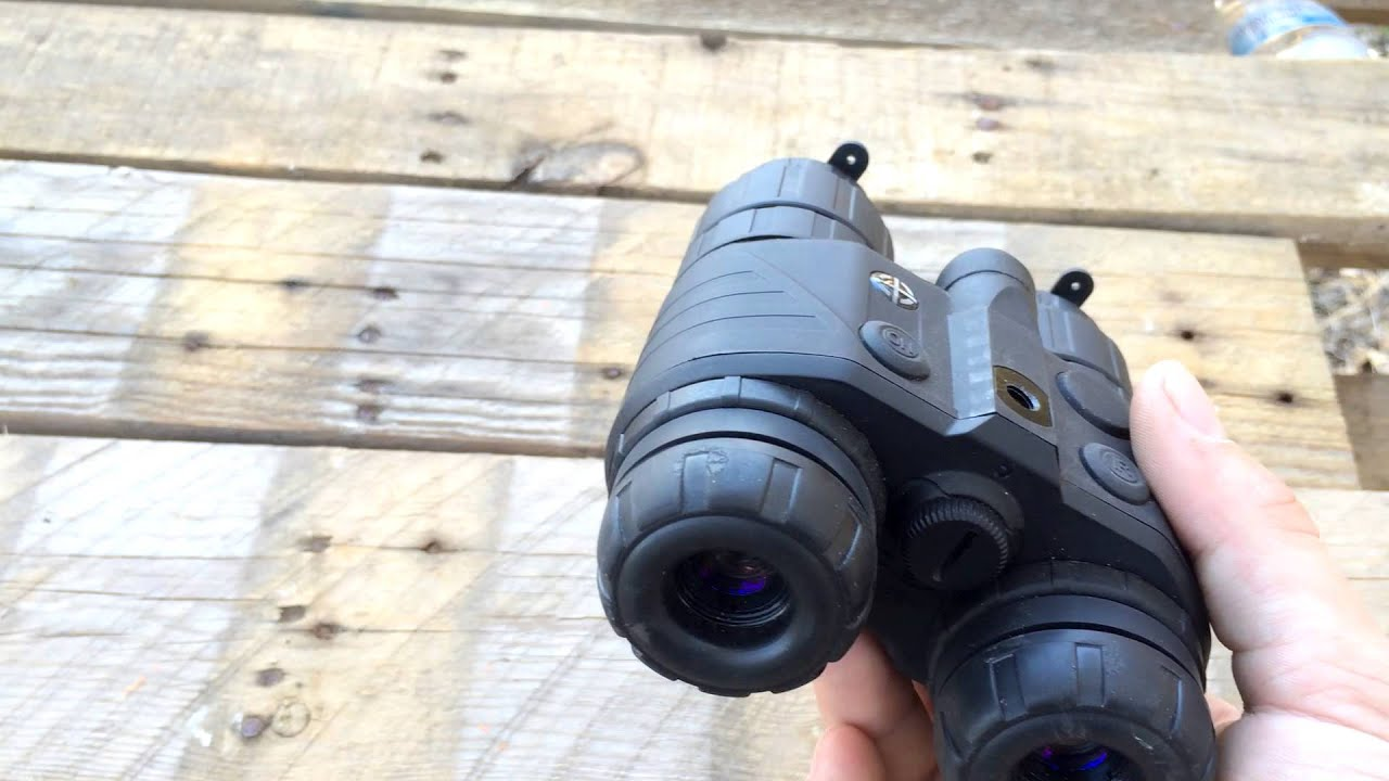 Sightmark Ghost Hunter 1x24 Night Vision Review Youtube