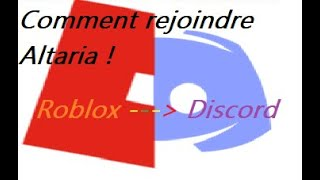 How to join Altaria RP! Roblox
