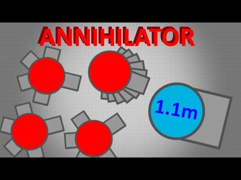 Diep.io   1.14M Ram Annihilator - Destroying The Worst Witch-hunting Clan In Diep!