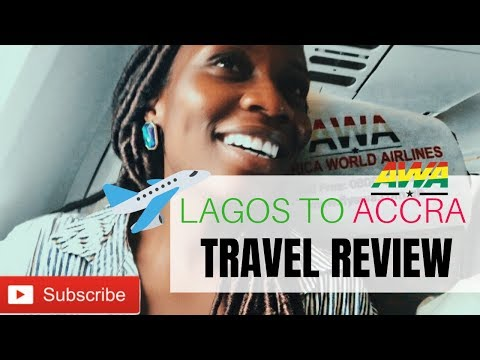 LAGOS to ACCRA, GHANA (Kotoka AIRPORT) | Africa World Airlin