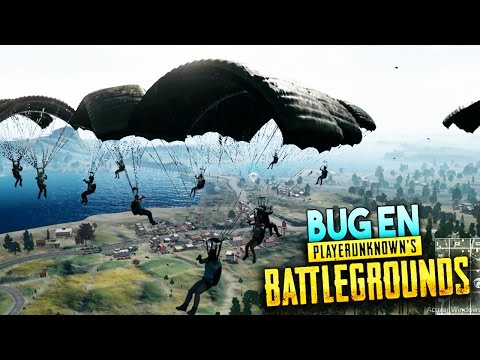 EL BUG DE 100 PERSONAS EN EL MISMO LUGAR!! PLAYERUNKNOWN'S BATTLEGROUNDS