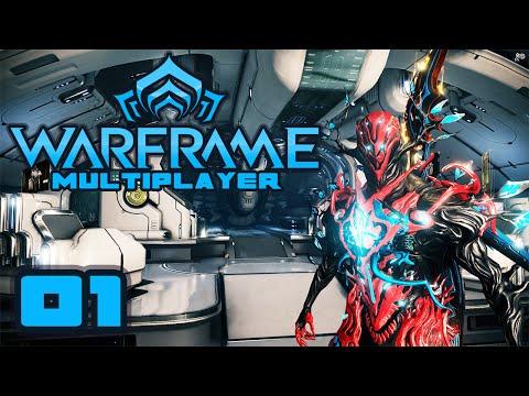 Let's Play Warframe Co-Op - Part 1 - Drop Dead Gorgeous
