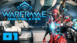 Let's Play Warframe Co-Op - Part 1 - Drop Dead Gorgeous