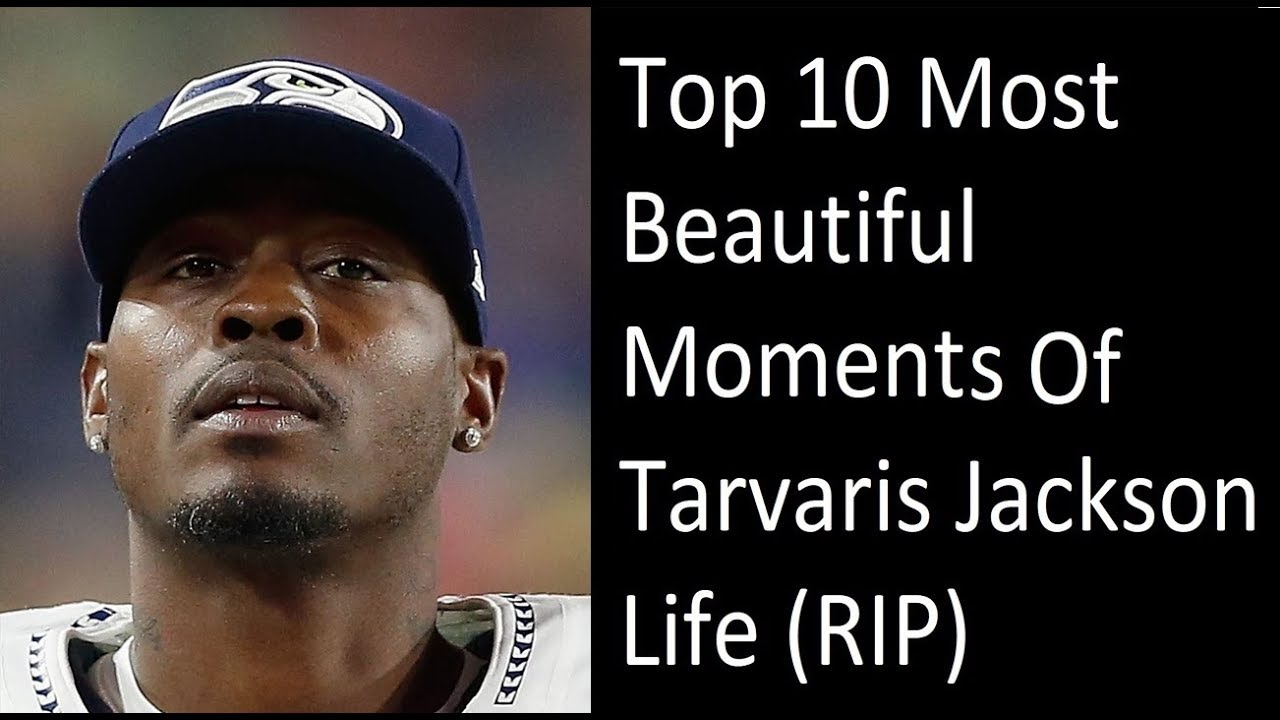 Top 10 Most Beautiful Moments Of Tarvaris Jackson Life (RIP)