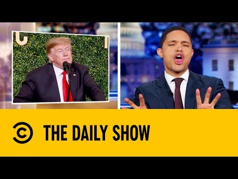Donald Trump Is A Birther For Everyone | The Daily Show with Trevor Noah