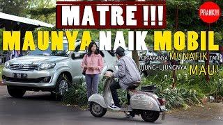Awalnya Munafik, Tapi Akhirnya Mau ! CEWEK MATRE ! GOLD DIGGER PRANK (Edisi Vespa) - Prank Indonesia