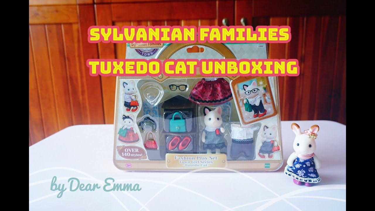 Sylvanian Families  FASHION PLAY SET TOWN GIRL SERIES TVS-09 PERSIAN CAT