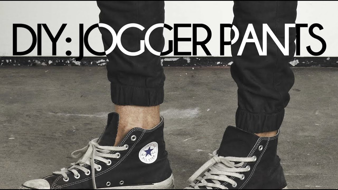 DIY Jogger Pants! - YouTube