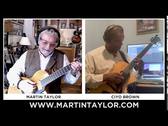 MARTIN TAYLOR & CIYO BROWN PERFORM 'SUNNY'