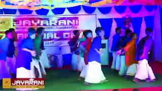 Jayarani Group of schools 6th Boys Vettikattu Song AnnualDay