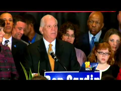 U.S. Sen. Ben Cardin victory speech