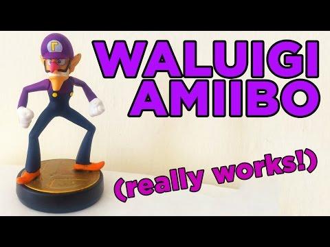 My WORKING Waluigi Amiibo!