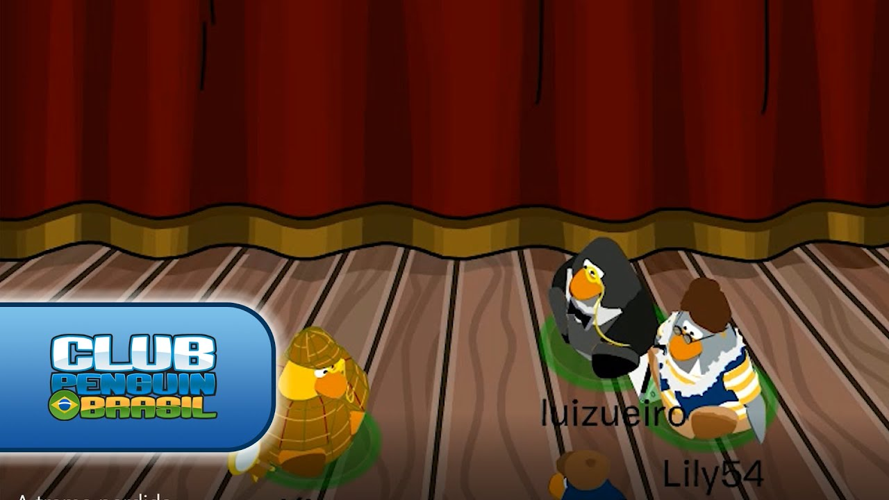 A trama perdida - Club Penguin Brasil