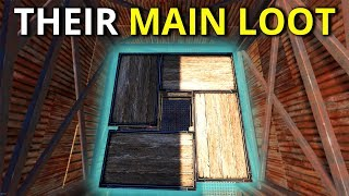 DECAYED BASE GAVE US A WEAPON HOARDERS MAIN LOOT - Rust Survival 2/2
