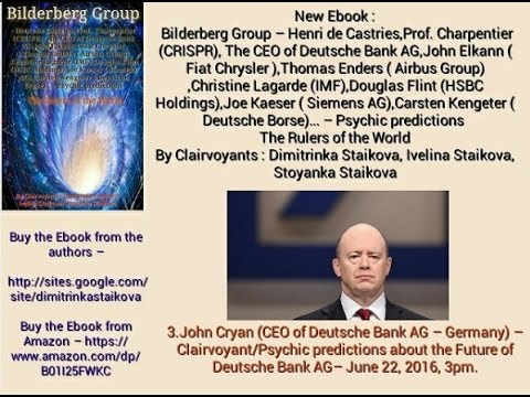 Deutsche Bank Collapse exactly as predicted by Clairvoyant/Psychic Dimitrinka Staikova