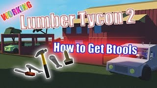 How To Get Btools in Lumber Tycoon 2 | Step by Step. [WORKING]