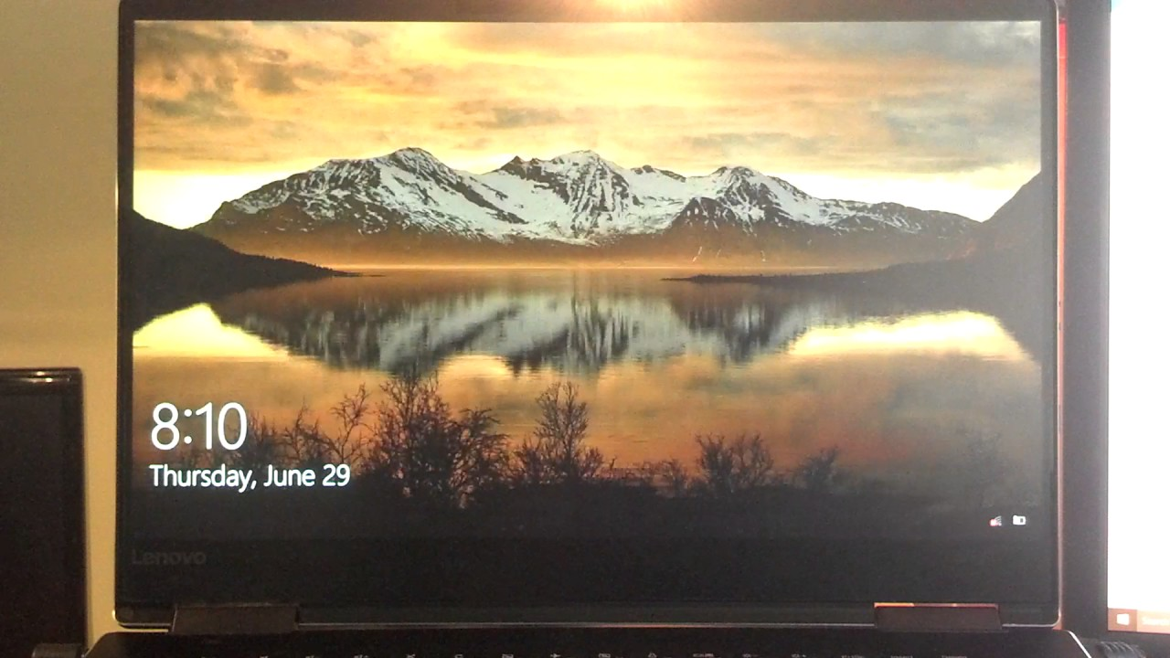 Lenovo Yoga 710-15IKB Laptop Screen Flickering and Artifacts
