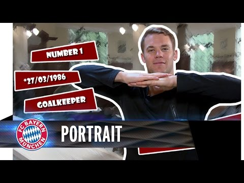 Manuel Neuer Portrait