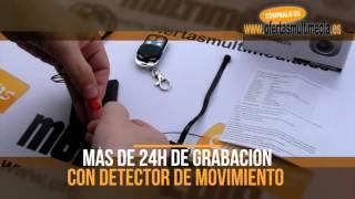Micro Cámara Espia Larga Duración con Detector de Movimiento