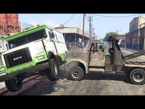 Truck Heist - Blitz Play - GTA V