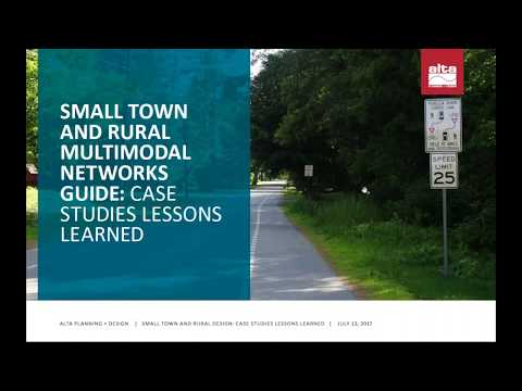 Small Town and Rural Design Guide  Case Studies Lessons Learned