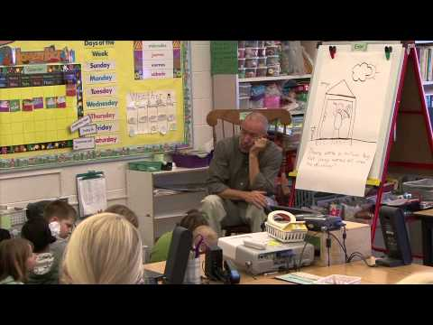 David Matteson; Fall Demonstration Lesson In Kindergarten