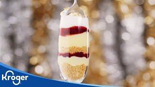 Champagne Cheesecake Parfaits│VIDEO │Kroger