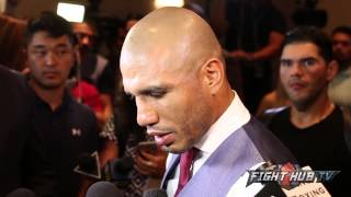 "Miguel Cotto ""A victory over Canelo is just another win. I beat Canelo by listening to Freddie"""