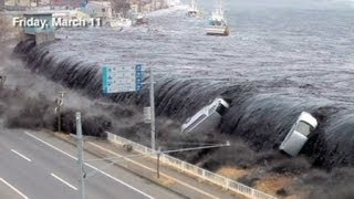 vuclip Incredible New Japan Tsunami Footage - This man risked his Life to film