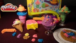 Plastilina Play Doh- Helados y Golosinas * Postres de Plastilina Play Doh  Helados,Waffles,Malteadas