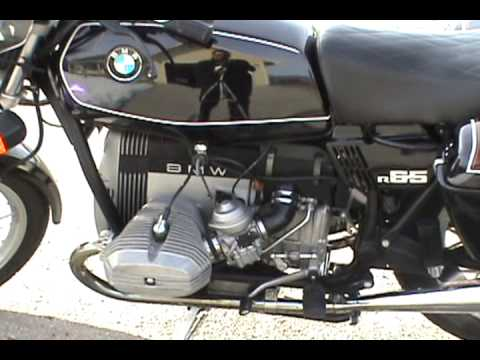 bmw 1983 r 65 motorcycle youtube. Black Bedroom Furniture Sets. Home Design Ideas