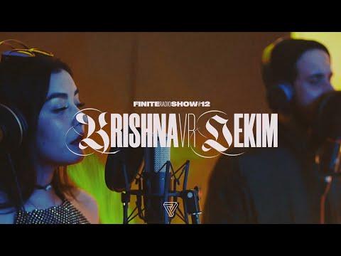 Krishna Vr & Dekim | Finite Radio Show