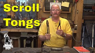 Scrolling tongs and round nose pliers