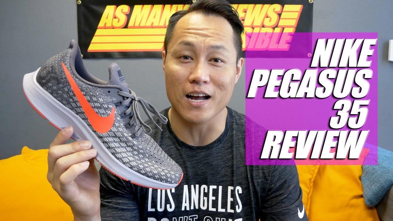 Nike Air Zoom Pegasus 35 Review - YouTube