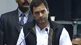 Indian Labour is scared, says Rahul Gandhi