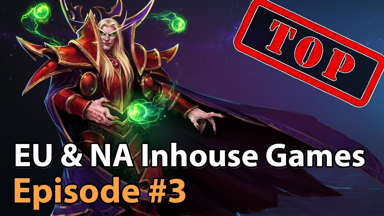 ► More EU & NA Inhouse Matches - Heroes of the Storm Esports