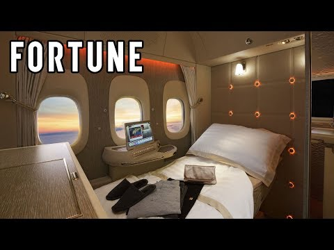 Check Out Emirates Airlines' 'Hotel In the Sky' I Fortune