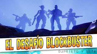 EL MISTERIOSO DESAFÍO BLOCKBUSTER | Fortnite: Battle Royale
