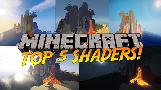 Top 5 Minecraft Shaders! (1.9) - 2017 (HD)