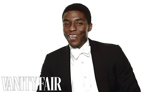 Talking to Chadwick Boseman Behind the Scenes of our Hollywood Issue Cover Shoot