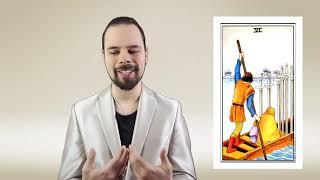 Уроки Таро. Шестерка Мечей. ДЗ-4. Василий Попов